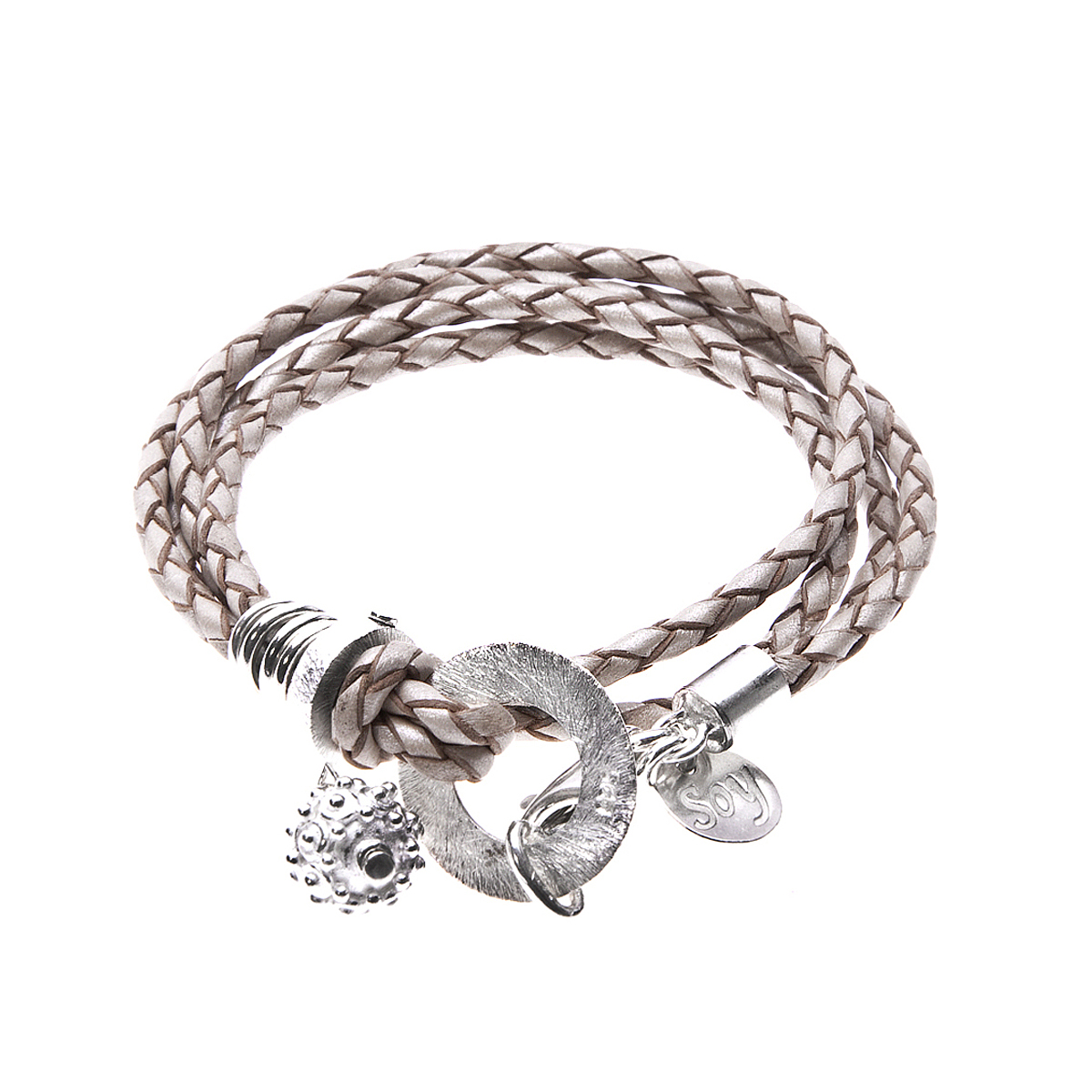 """5th Avenue"" Lederarmband"