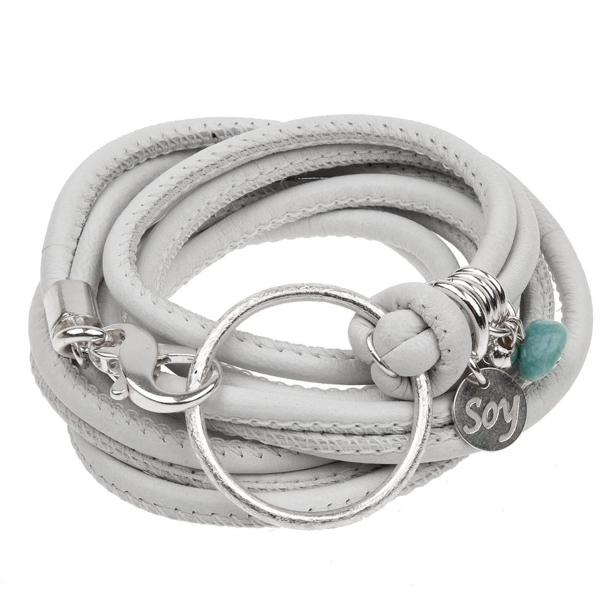 Wickelarmband : Classic Nappa (Weiß)