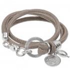 Reptil Armband Sand matt